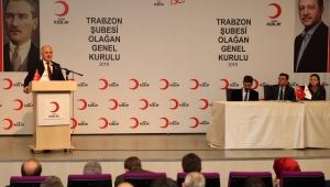 Trabzon Kızılay'da İsmet Durmuş Güven Tazeledi