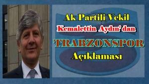 Ak Partili Vekil Kemalattin Aydın'ın Trabzonspor Üyeliği İptal Edildi.
