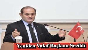 Emrullah Tellioğlu Yeniden Vakıf Başkanı Secildi