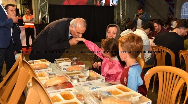 Trabzonlu Çocuklar İftarda Buluştu