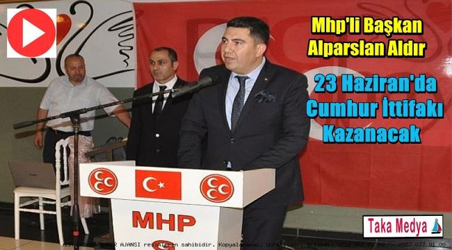 Mhp'li Başkan Aldır Ülkücü Camiayı İftar'da Buluşturdu