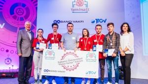 Trabzonlu liseliler su tüketiminden tasarruf eden proje ile ödül aldı