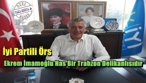 İyi Partili Hüseyin ÖRS'Istanbul'a İmamoğlu Hayırlı Olsun