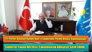 Başkan Ayhan Kurt'a Saldıranlar Hakim Karşısına Çıkıyor