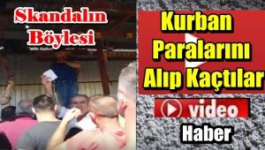 İstanbul'da Kurban Paralarını Alıp Kaçtılar