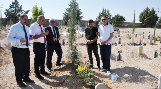 MGC Haydar Karaduman'ın mezarını ziyaret etti