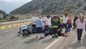 Seydişehir'de Trafik kazası: 5 yaralı