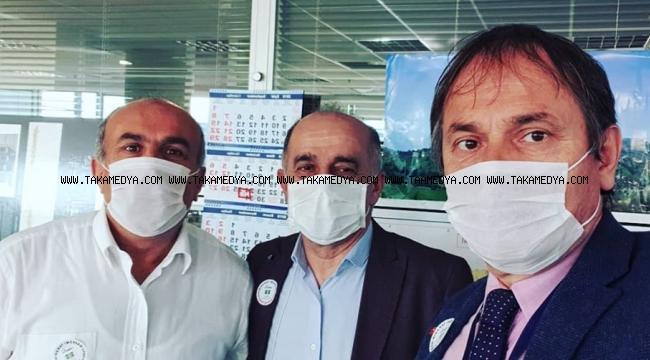 Bahçelievler Belediye Personeli maske takarak Lösemili çocukların derdine ortak oldu