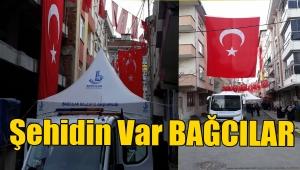 İdlip şehidi Uzman Onbaşı Ahmet Alparslan'ın şehit ateşi Bağcılar'a düştü
