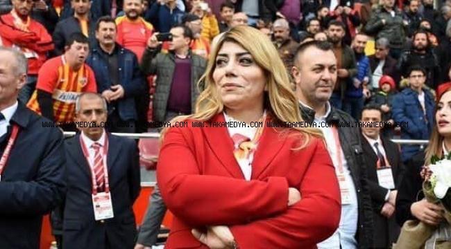 Kayserispor Külüp Başkanı Berna Gözbaşı' Ligler Bitmiştir