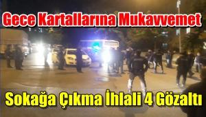 Bağcılar'da Polise Mukavvemet 4 Gözaltı