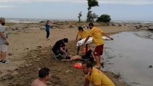 Giresun'da Üç Genç Boğulmaktan Son Anda Kurtarıldı