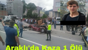 Trabzon'da Kaza Genç Sporcu Hayatını Kaybetti