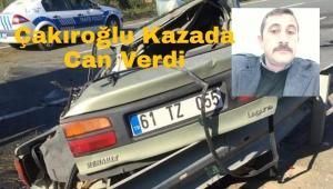 Trabzon'da Feci Kaza 1 Ölü