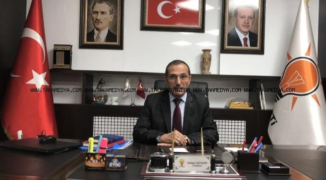 """Başkan Dağtekin'den '29 Ekim' Mesajı """"Verdiğimiz Mücadele Diriliş ve Medeniyet Muştusudur"""""""