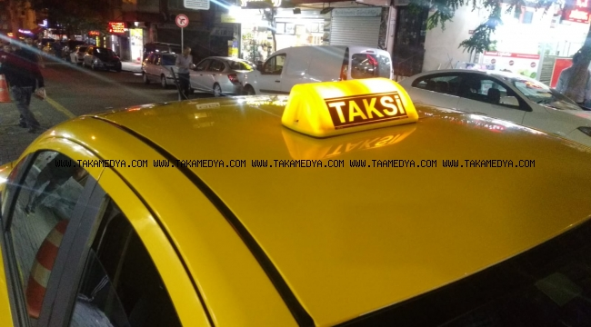 Güngören'de Taksi'ciye Meydan Dayağı