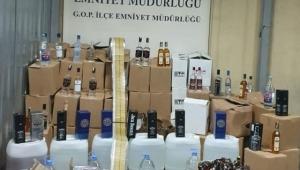 Emniyet'ten Kaçak içki ve Sahte alkol imalatını operasyon