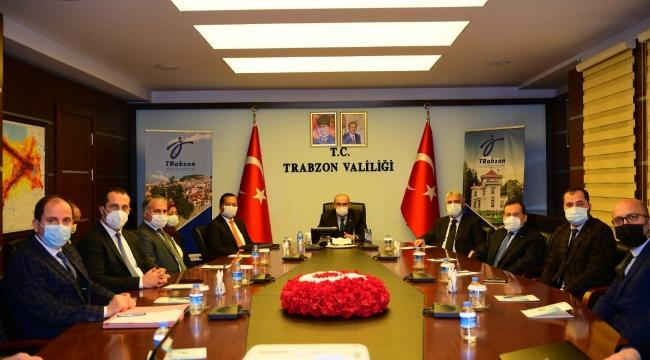 TBMM Endonezya Dostluk Grubu Başkanı Dr. Adnan Günnar ile Endonezya Büyükelçisinin Trabzon Ziyareti