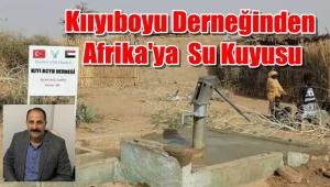 Görüntülü Haber/ Of Kıyıboyu Derneğinden Afrika'ya Su kuyusu