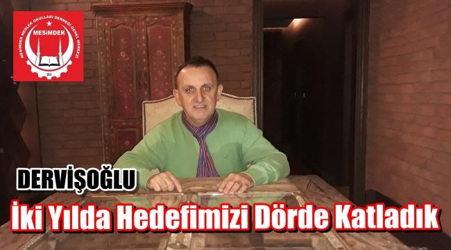 MESİMDER Başkan Yardımcısı Dervişoğlu' Hayırda Yarışıyoruz