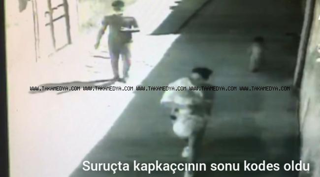 Suruç'ta Polis Kapkaç'cıyı Kısa Sürede Yakaladı