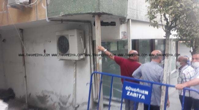 Güngörende Direkle Desteklenen Binaya Tahliye Kararı çıktı