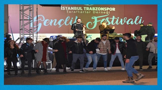 Trabzonsporlu Gençler Festivalde Buluştu