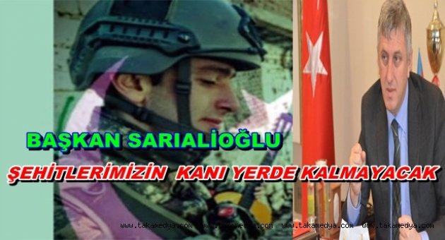 Başkan Sarıalioğlu'ndan taziye mesajı