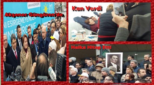 Meral Akşener Güngören'de Kan Kampayasına Destek Verdi! Mesaj Gönderdi..