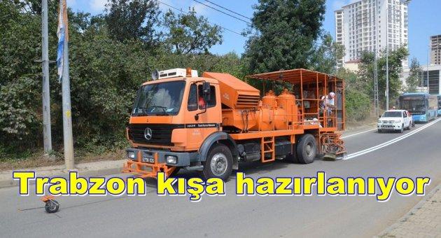 Trabzon'da kışa Hazırlık calışmaları