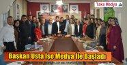 TDF Başkanı Oğuzhan Usta 'Trabzonlu Gazetecilere İlk Süprizi Yaptı