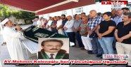 Av.Mehmet Kolenoğlu Dualarla Son Yolculuğuna Uğurlandı