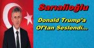 """Başkan Sarıalioğlu; """"Kudüs'ün İsrail'in Başkenti İlan Edilmesini Kınıyoruz"""""""