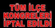 CHP Genel Merkezi'nden ilçelere faks çekildi…. Seçimler iptal..