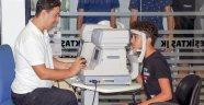 Dünyagöz Vakfı'ndan Beşiktaşlı Sporculara Göz Taraması