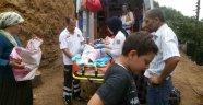 Yıllardır uyuyan hastanın kapısına ilk kez ambulans geldi