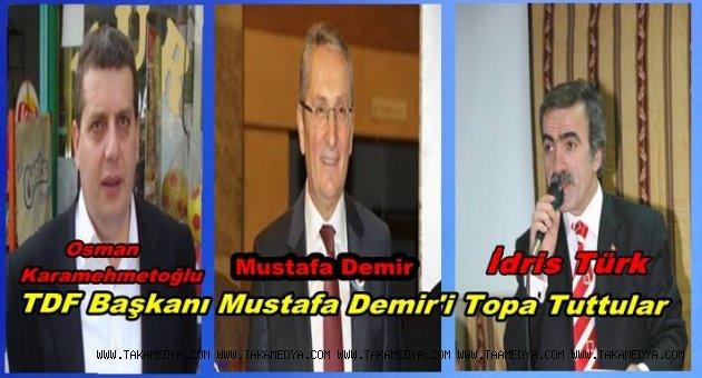 TDF başkanı Mustafa Demir'e Canlı Yayında Karamehmet'ten Şok Sözler